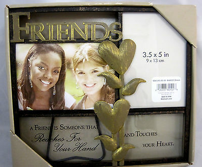 Picture Frame Photo Display Friends Holds 4
