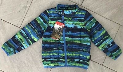 North Face Infant Thermoball Jacket, Clear Lake Blue Horizon, Nwt $80, 18-24 M