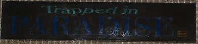 Trapped in Paradise, Large (5X25) Movie Theater Mylar Banner/Poster