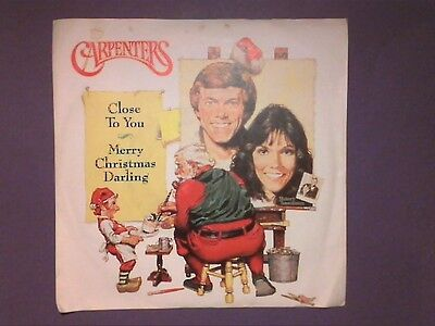 "The Carpenters - Merry Christmas Darling/Close To You (7"" single) p/s AM 716"