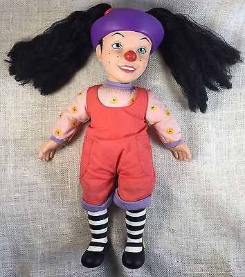 """Vtg Big Comfy Couch 18"""" Loonette Not Talking Doll Plush 1996 Playmates Retired"""