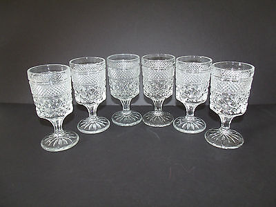 Claret Wine in Wexford by Anchor Hocking  (Set of 6)