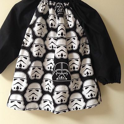 Kids Storm Troopers /star Wars COTTON  Art Smock Boys 4-7