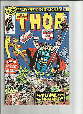 Thor # 247 - Bronze Age (1st Series) - Solid VF- (7.5)