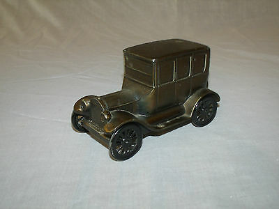 Vintage Brass 1926 Model T Ford Mechanical Coin Bank by BANTHRICO, INC. CHICAGO