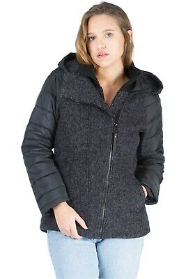 Bench CHAQUETA MUJER WOOL NYLON MIX JACKET NE