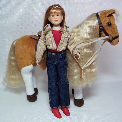 Only Hearts Club Lilly Rose Doll with Cinnamon Palomino Horse