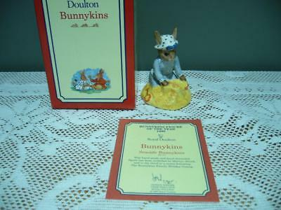 Royal Doulton 'seaside Bunnykins' Figurine In Box - Very Good Condition
