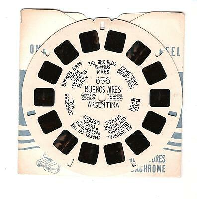 Viewmaster Reel - Buenos Aires Argentina - 656