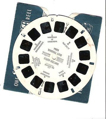 Viewmaster Reel - Windmill land - South Holland - 1901