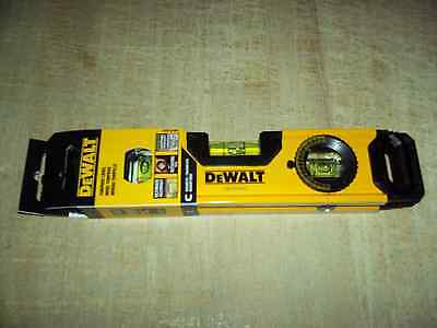 "DeWALT 9"" MAGNETIC TORPEDO LEVEL w/ROTATING DIAL! ~ Brand New! ~ Only $19.75!"