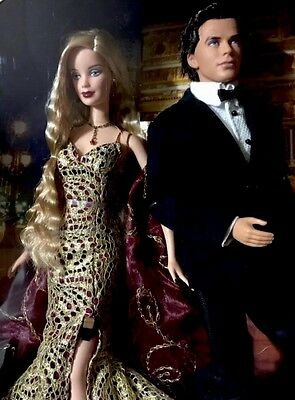 Mattel Barbie & Ken 007 James Bond Dolls-Mint NEW IN BOX/SEALED.#B0150.2002.