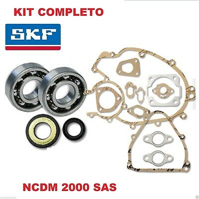 Bearing Kit Shaft Skf Oil Seals O-Ring Engine Gaskets For Ape 50 (Cone 19)