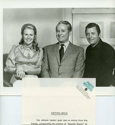 Juliet Mills Van Johnson Nanny And The Professor Original 1970 Abc Tv Photo