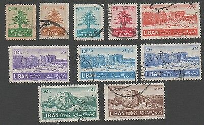 Lebanon. 1949 Byblos. Cancelled