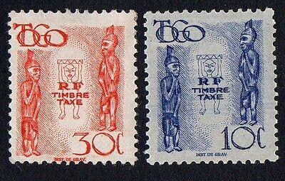 Togo. 1947. Postage due. MH