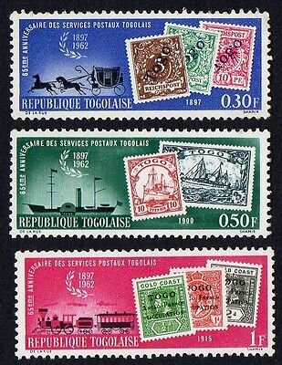 Togo. 1963 The 65th Anniversary of Togolese Postal Services. MLH