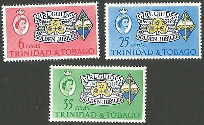 Trinidad & Tobago.1964 The 50th Anniversary of Girl Guides' Association. #2. MLH