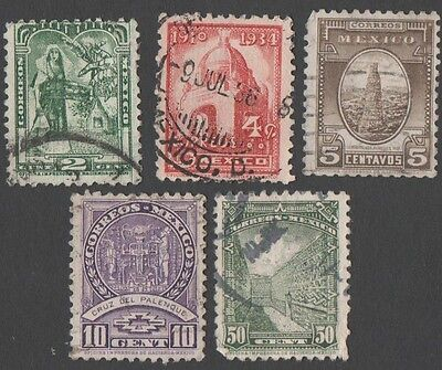 Mexico.  1934 Folklore and History. Cancelled