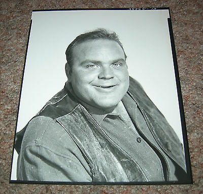"RARE Dan Blocker 8x10"" Portrait Photo 1959  - Hoss Cartwright Bonanza Ponderosa"