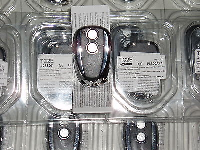 1 x GENUINE PRASTEL 2 button remote / fob TC2E, FREE UK POST, NEW, fast dispatch