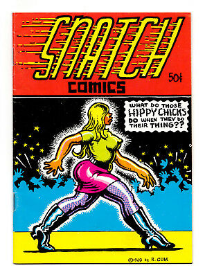 Snatch Comics #1 2 3 - Full Run / 1968-69 / 2nd to 4th Printings / 5.0 to 5.5