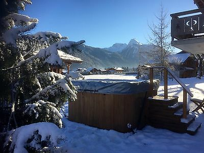 2018  IN MORZINE FULLY CATERED ALPINE SKIING CHALET HOLIDAY 7 DAYS NOW Just £450
