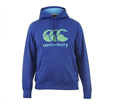 New Canterbury Mens CCC Classic Hoody Large - Sport Blue/Green - E553329