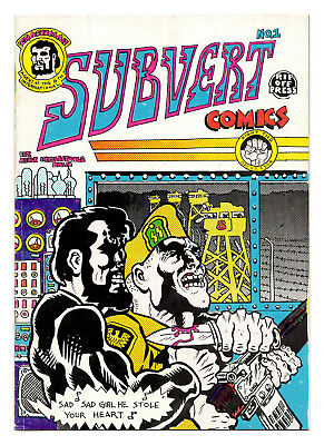 Subvert Comics #1 2 3 - Full Run / 1970-76 / All 1st Printings / 3.0 to 6.5