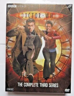 Doctor Who - The Complete Third Series *Season 3* (DVD, 2007, 6-Disc Set)