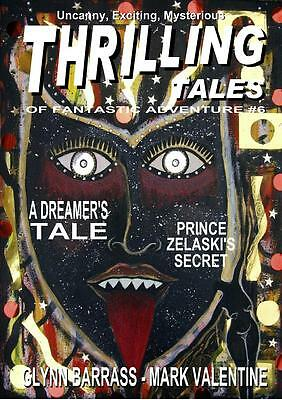 108 THRILLING TALES #6 Rainfall chapbook. Pulp fiction. Action & adventure