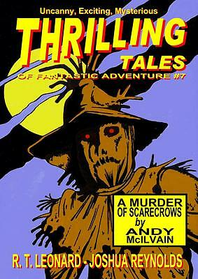 115 THRILLING TALES #7 Rainfall chapbook. Pulp fiction. Action & adventure