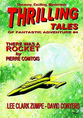 066 THRILLING TALES #4 Rainfall chapbook. Pulp fiction. Action & adventure