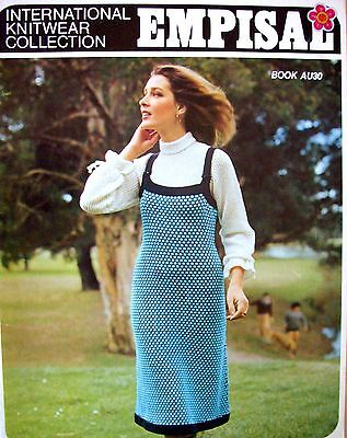 Empisal Knitting Machines Patterns Book AU30 - INTERNATIONAL COLLECTION - VGC