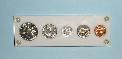 Usa 1960 Proof Set Really Nice In Plastic Case