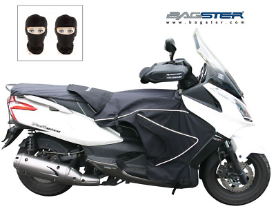 Pack Hiver BASGTER Kymco 300 Downtown 2009-16 Tablier + Manchons + 2 Cagoules