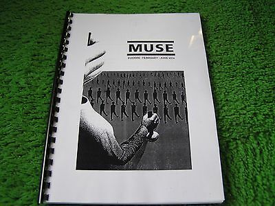 MUSE. Tour book 2016.