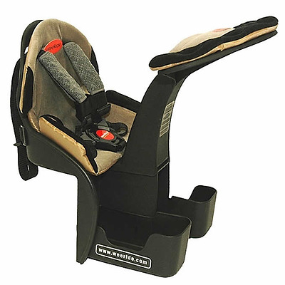 Brand New WeeRide Kangaroo Ltd. Front Centre-mount Child Carrier for Bicycle