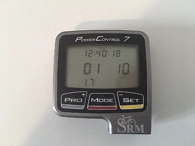 Srm Powermeter Powercontrol VII PC7 And Accesories