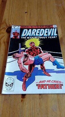 Daredevil #164 Original Marvel Comic 1980 Frank Miller 'And He Cries..Father!