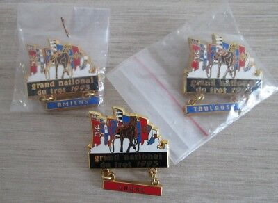 Pins Collection Equitation - Grand National Du Trot 1993 - Amiens Toulouse Laval