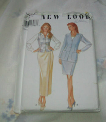Sewing patterns New Look Size A 8 - 18 UNCUT women's skirt set 6405