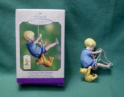 Hallmark 2000 Classic Pooh - Swing with Friends