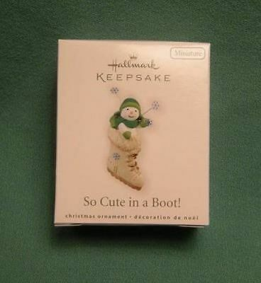 Hallmark 2010 Miniature So Cute in a Boot!