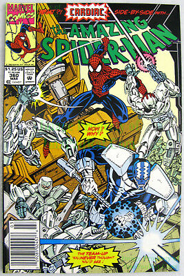 Amazing Spider-Man #360 VHTF NEWSSTAND Variant 1st Carnage Cameo Appearance! KEY
