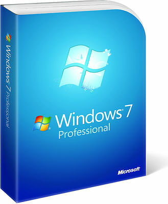 Windows 7 Professional 32/64 Bit – FATTURABILE - Originale Multilingua
