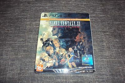 Final Fantasy XII The Zodiac Age Limited Steelbook Edition (PS4, New, Sealed)