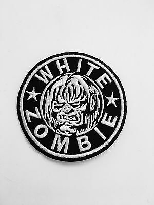 White Zombie Patch Grunge Alternative Punk Metal Rock