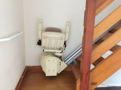 Brooks electric straight stair lift