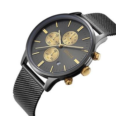 Baogela Mesh Chrono Black Gold 1611